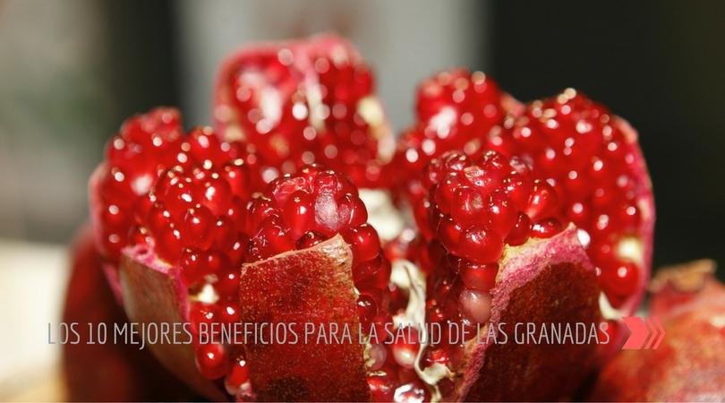 Beneficios Para La Salud De Las Granadas