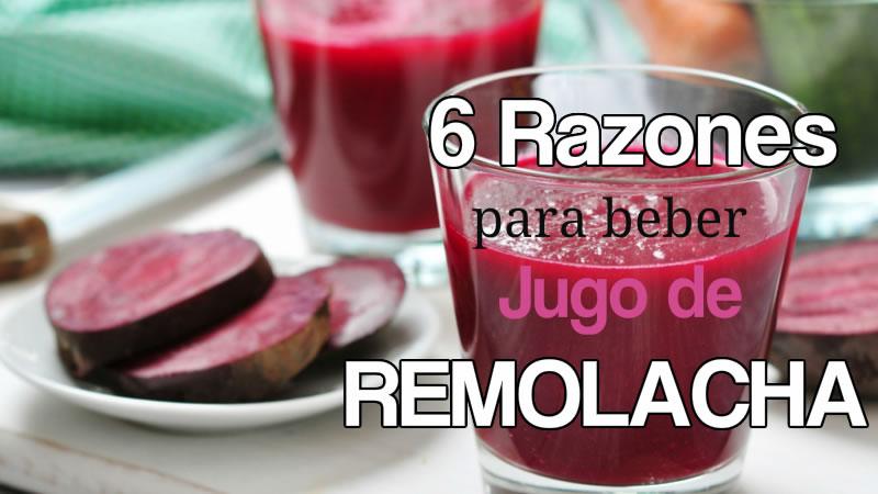6 Razones Saludables Para Beber Jugo De Remolacha