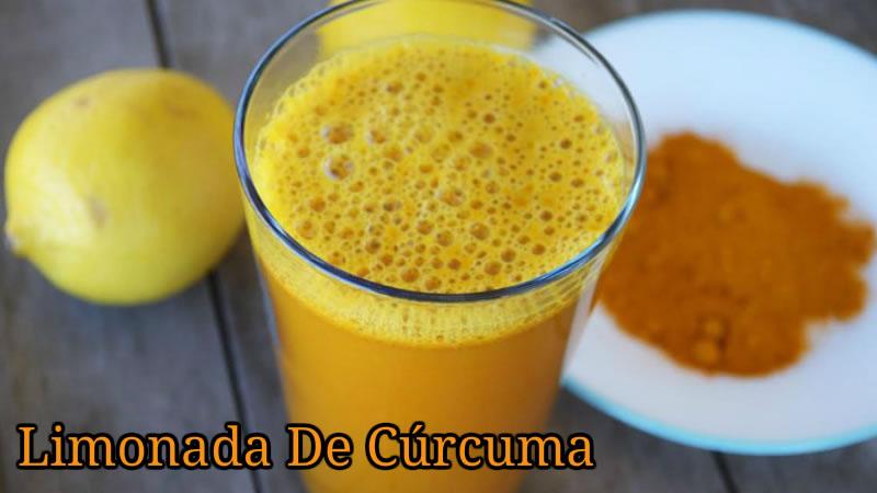 limonada de curcuma