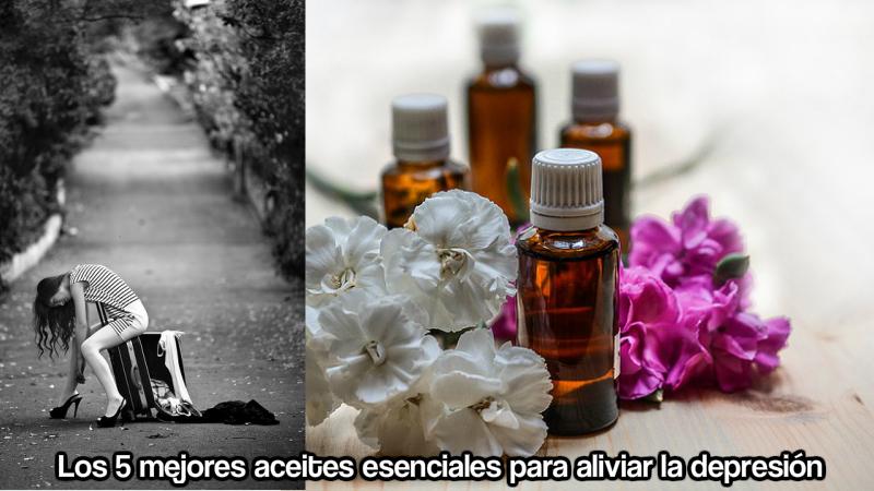Los 5 mejores aceites esenciales para aliviar la depresión