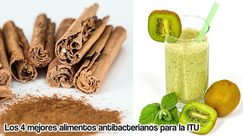 Los 4 mejores alimentos antibacterianos para la itu