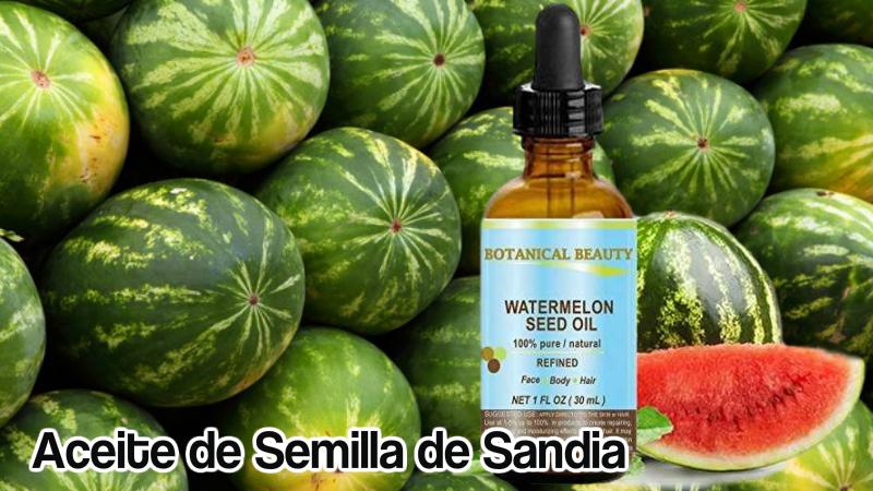 aceite de semilla de sandia