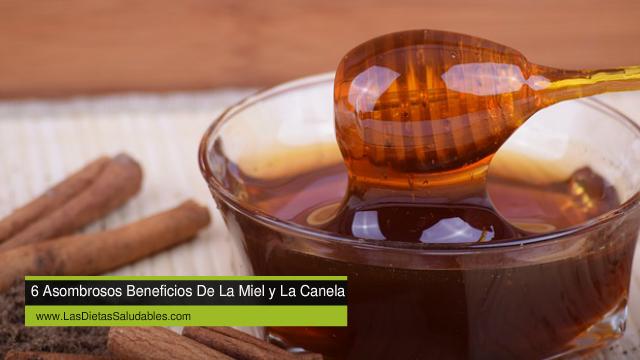 6 Asombrosos Beneficios De La Miel y La Canela