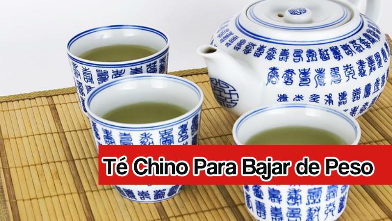té chino para bajar de peso