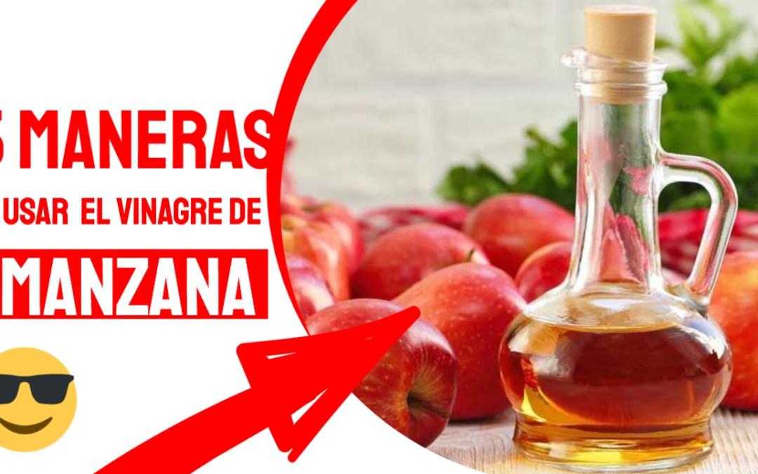 5 maneras de usar el vinagre de manzana