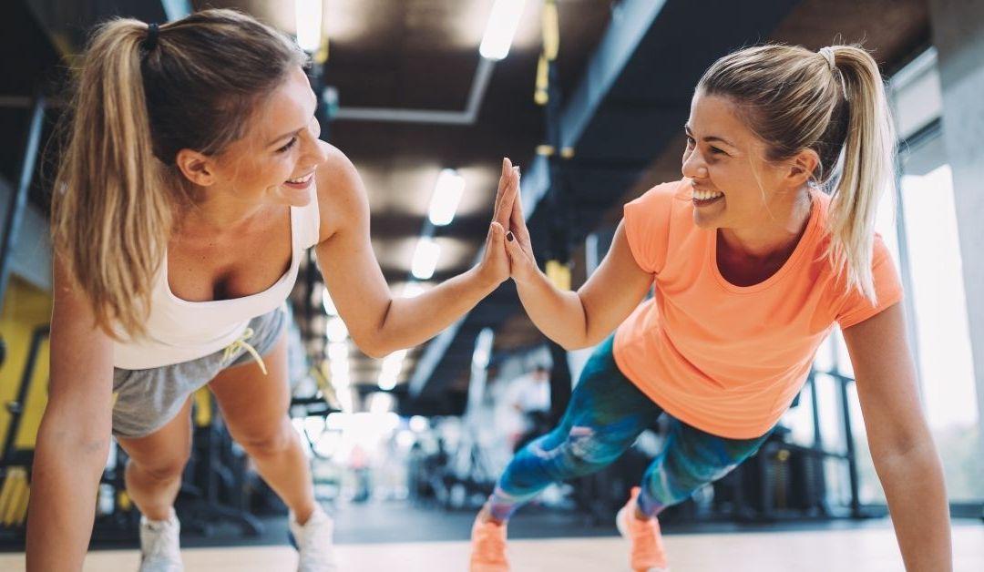 Comer y hacer ejercicio