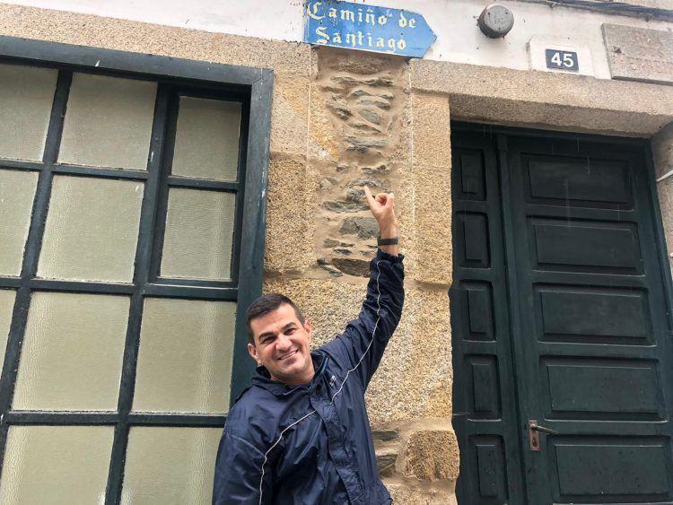 Camino de Santiago Englezesc