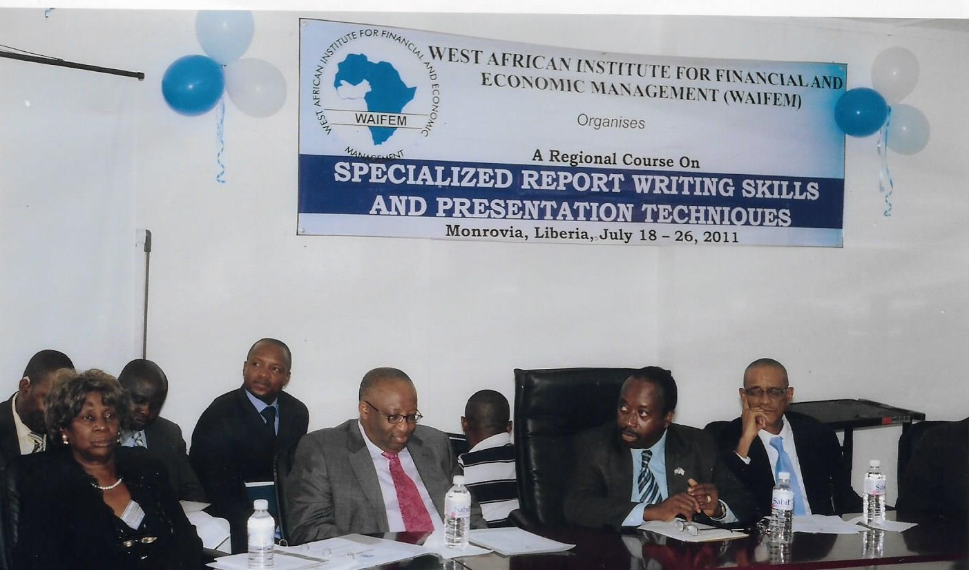 The West African Institute For Financial And Economic Management (waifem) Has Advised The Economic Sustainability Committee On Covid 19 To Thoroughly Look At The Impact Of The Disease On The Various