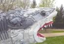 Lavado en tierra: el arte para salvar el mar llega al zoológico de Tulsa