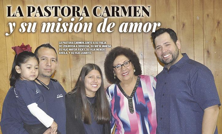 Pastor Carmen Gil's mission of love