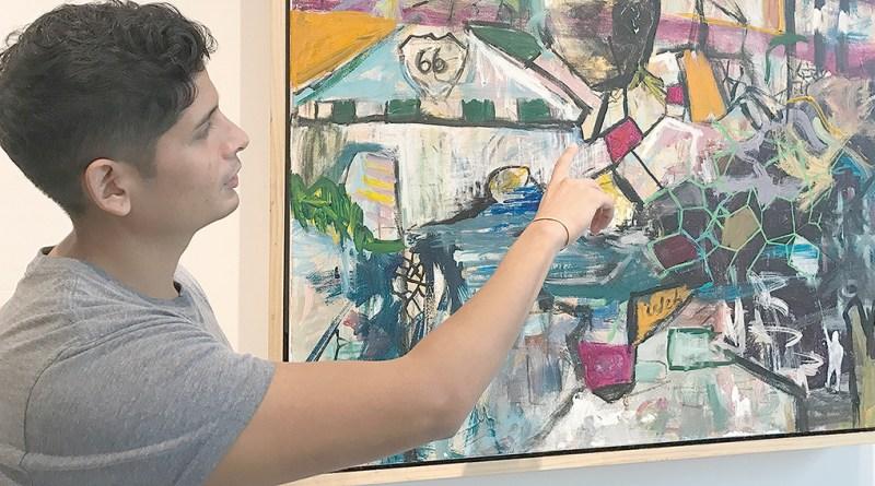 Gabriel Rojas y el floreciente mundo del arte en Tulsa / Gabriel Rojas discusses Tulsa's thriving art world