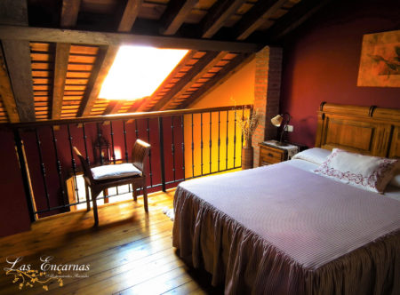 Dormitorio en apartamento con hidromasaje