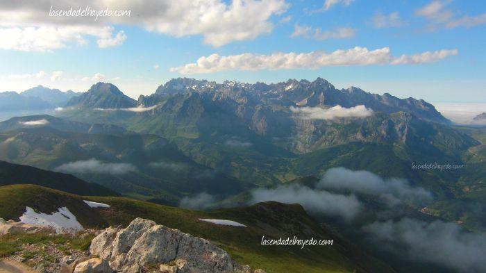 Picos de Europa desde Coriscao