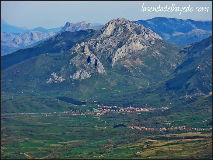 Villamanín y su magnífico pico Fontún
