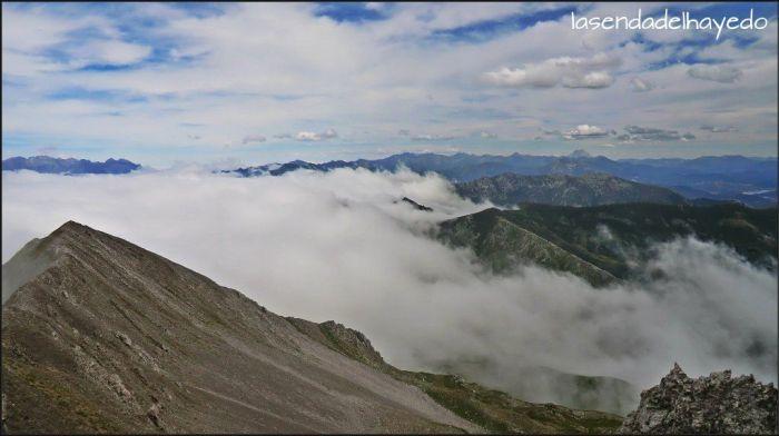 Vistas hacia Picos de Europa y sector San Glorio