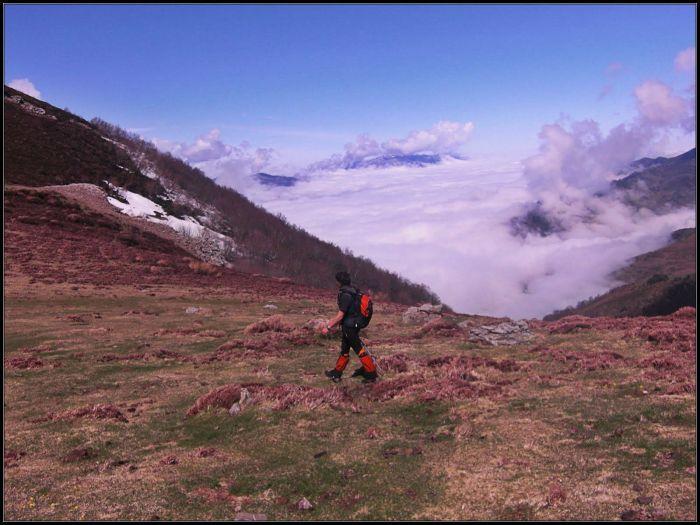 Mar de nubes en Asturias