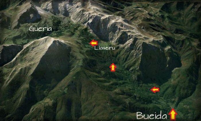 mapa fueria