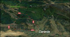 mapa carande