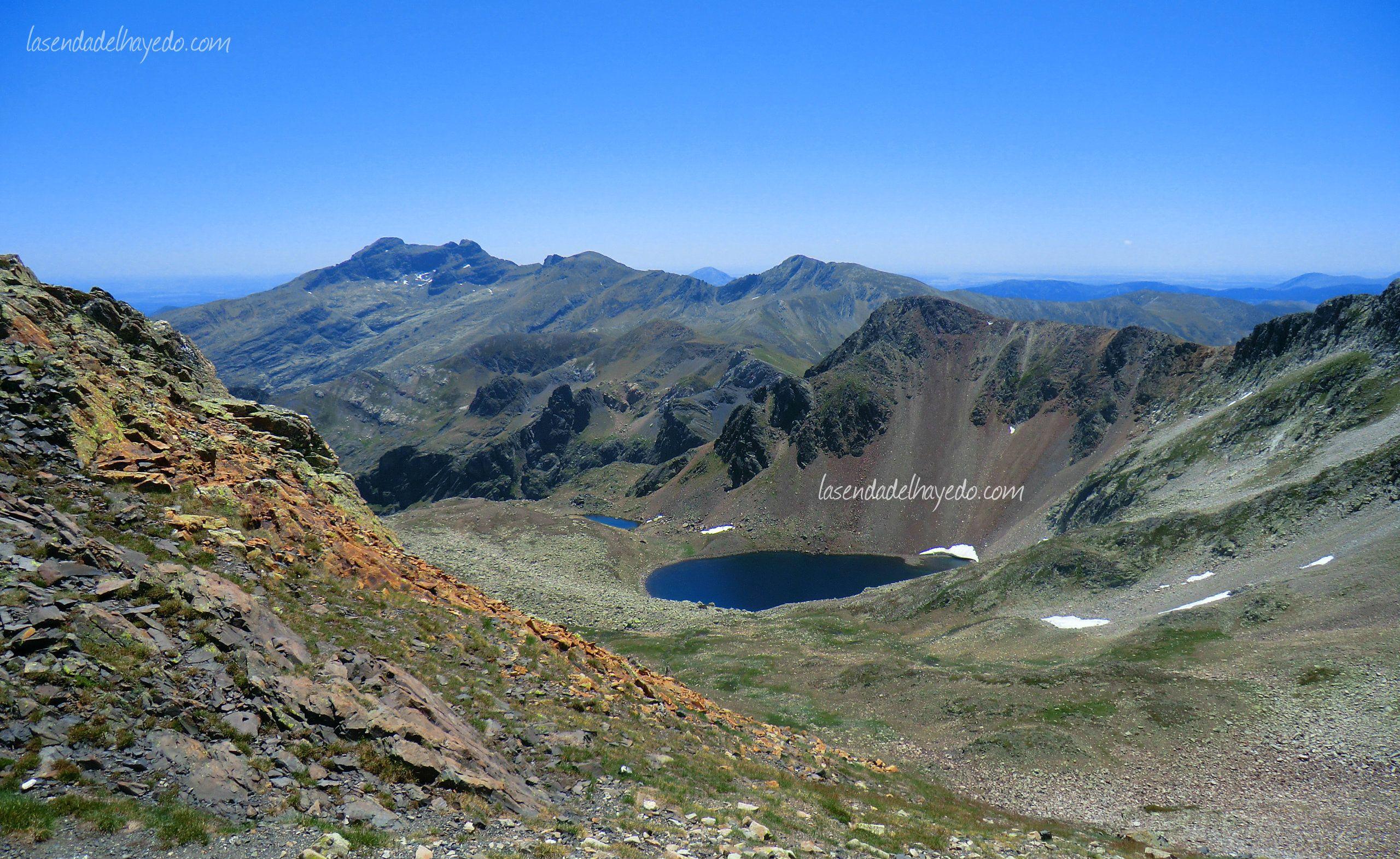 Paisaje de alta montaña de Fuentes Carrionas