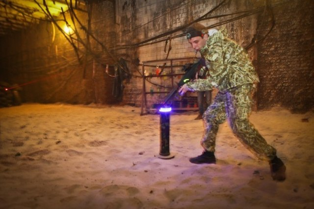 Лазертаг-клуб Цель в Самаре