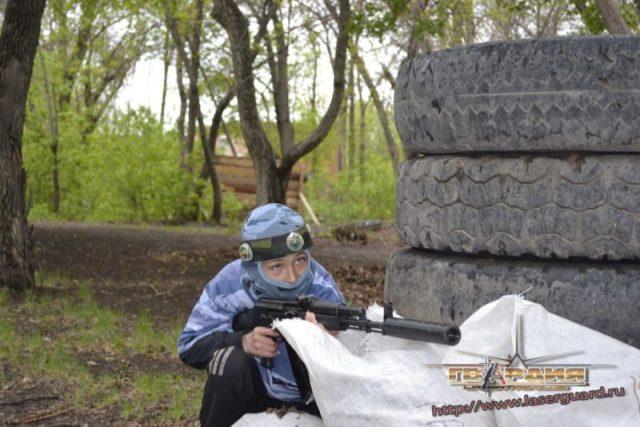 Лазертаг клуб Гвардия парк им. Терешковой в Челябинске