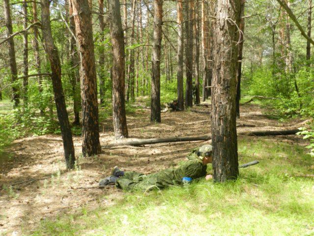 Лазертаг клуб Гепард Качкарский лес в Оренбурге