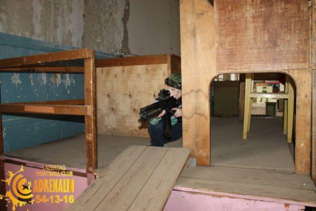 Лазертаг клуб Адреналин в Череповцах