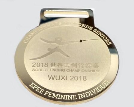 medal poząłcany Mistrzostwa Świata 2018
