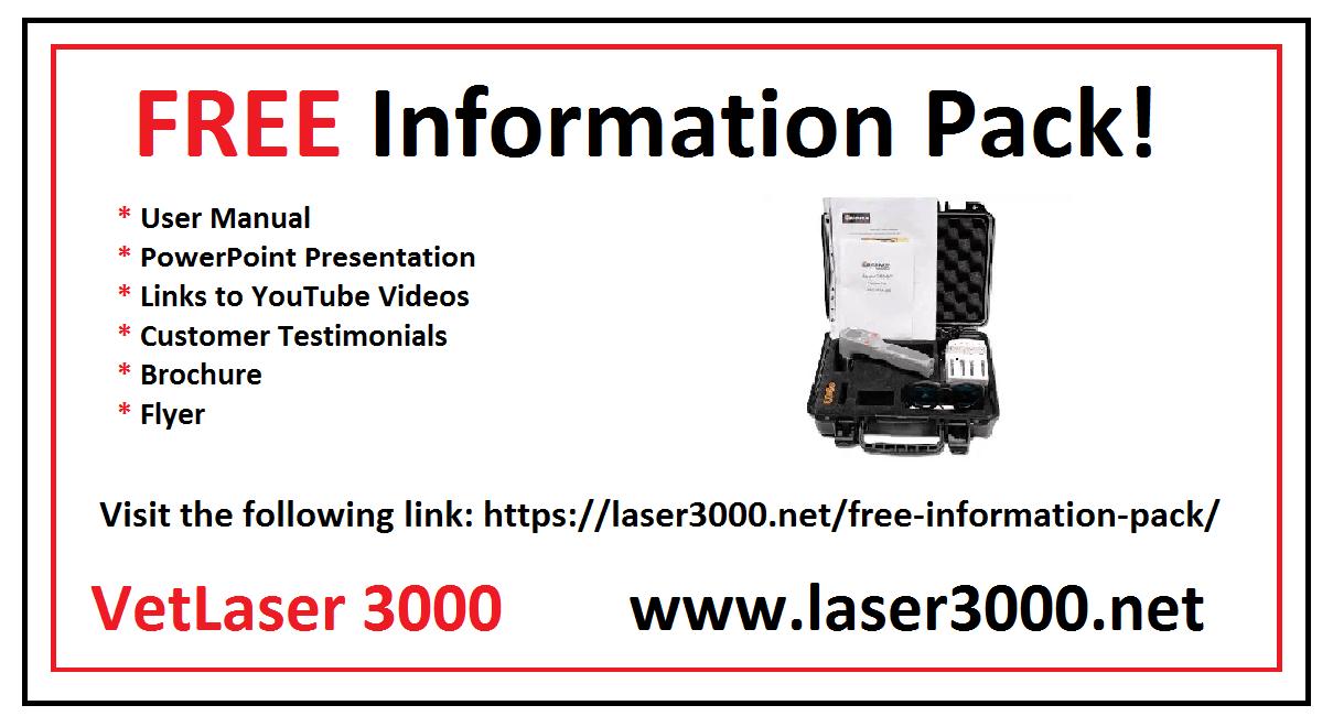Laser for horses