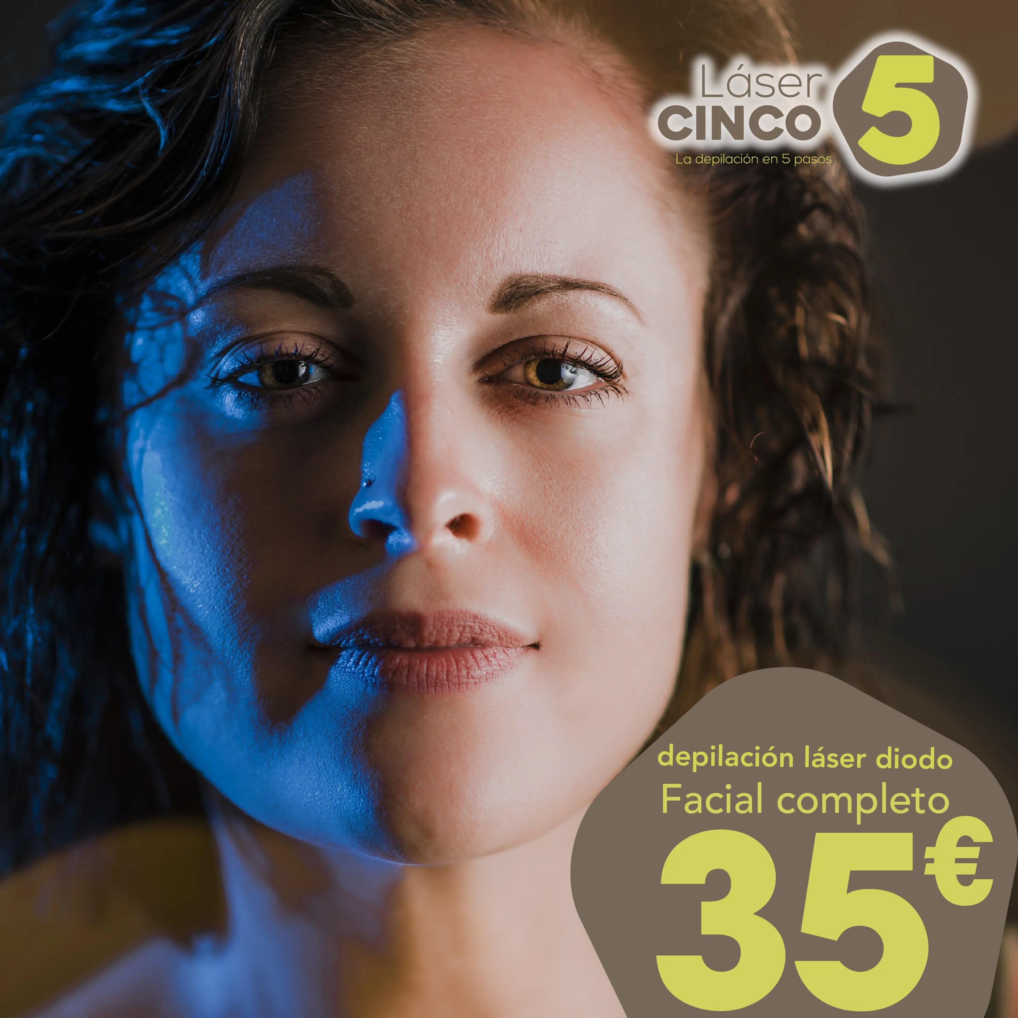 depilación facial completo