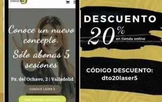Promo 20% Descuento online