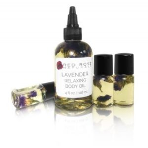 Red Rose Naturals Lavender Relaxing Body Oil Laser Bar and Aesthetics Dallas, Texas