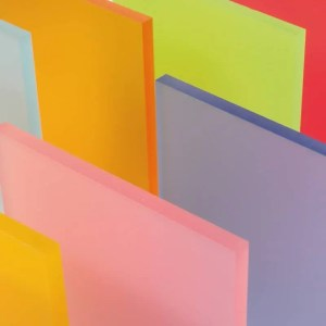 Frosted Acrylic Perspex Sheet