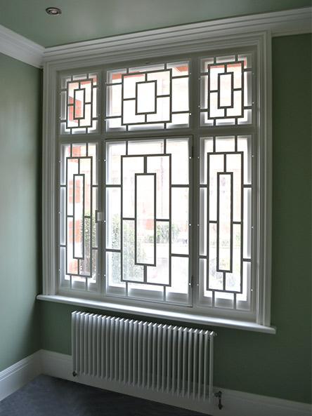 Decorative Window Security Screens I Custom Designs