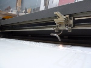 laser engraving acrylic