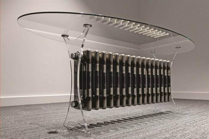 Perspex Legs For Designer Table Laserflair