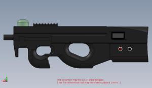 Hi-Tech Lasertag Equipment P90