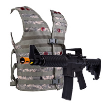 iCombat Tactical Lasertag Syetem indoor outdoor realistisch