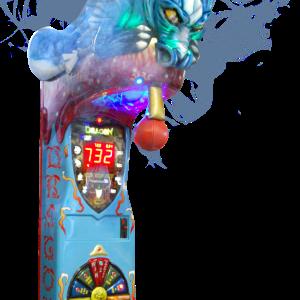 Boxautomat Dragon mit Licht und Nebeleffekten - einstellbar.