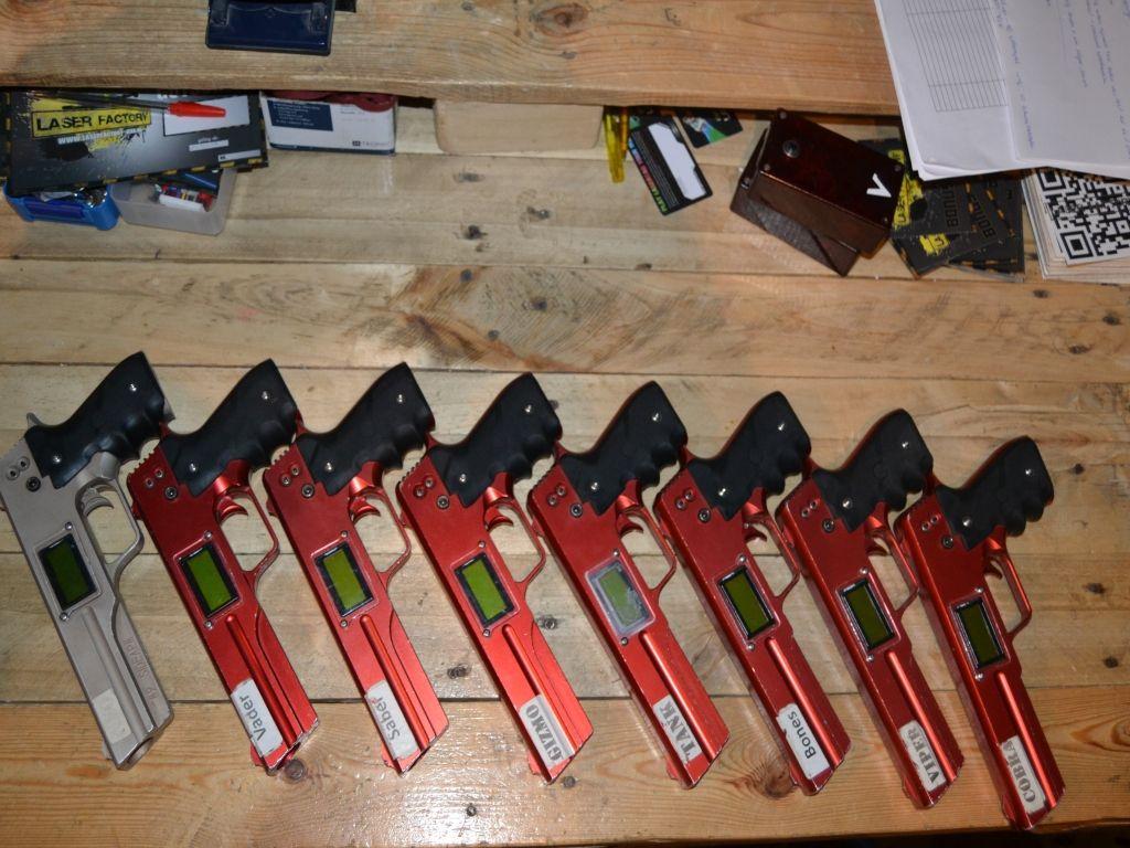 HT-9 Lasertag Pistolen