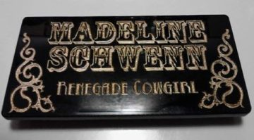 Get a custom name tag for your business or for fun!