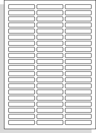 A4 laserprinter etiketten