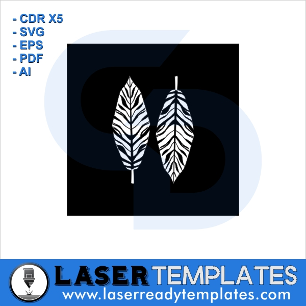 feather stencil laser ready