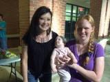 Tosca Lee & Aaron's family