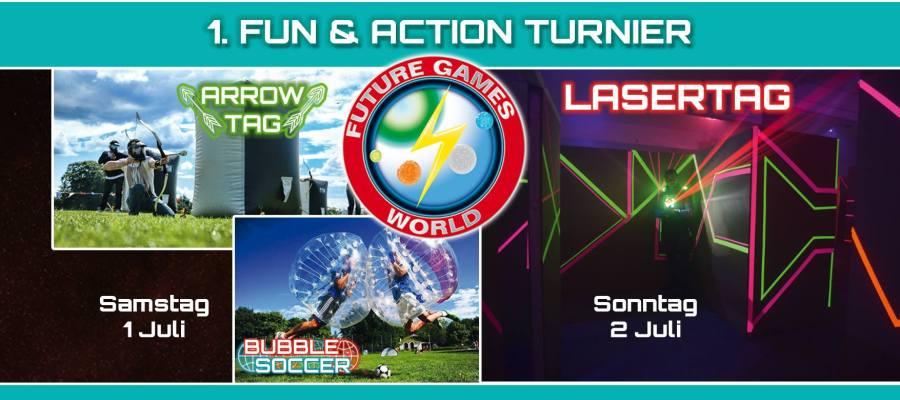 Future Games World Lasertag Turnier