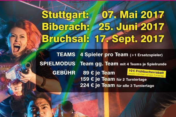 Lasertag Turnier Power Cup Süd Lasertagfans