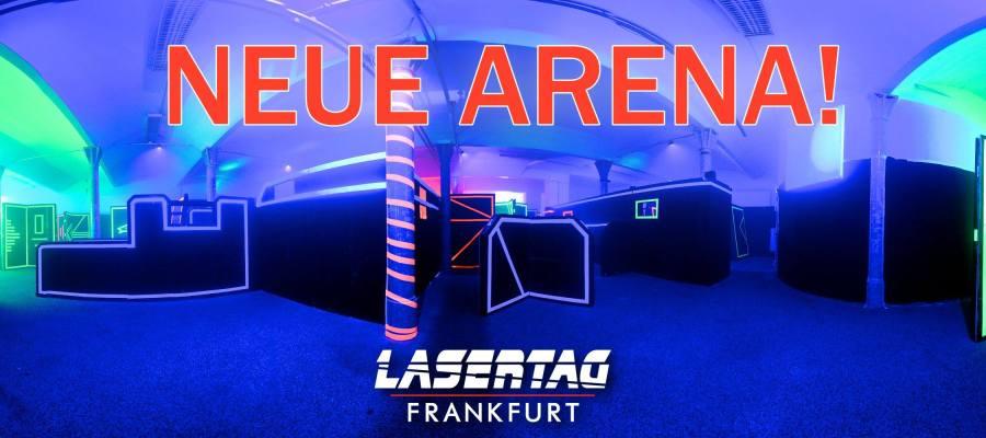 Lasertagfans LaserTag Frankfurt neue Arena