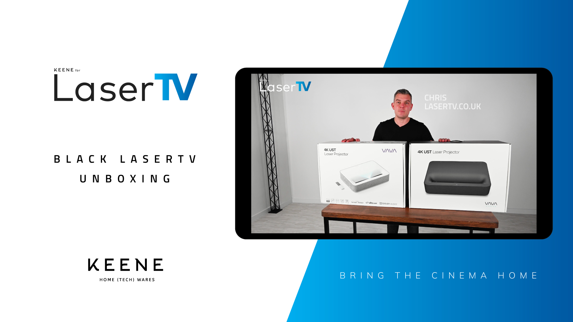 You are currently viewing LaserTV | Unboxing the new black LaserTV