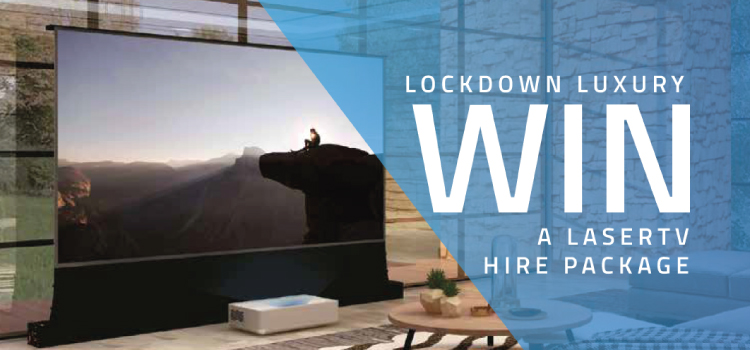 LaserTV | Win a LaserTV Hire Package