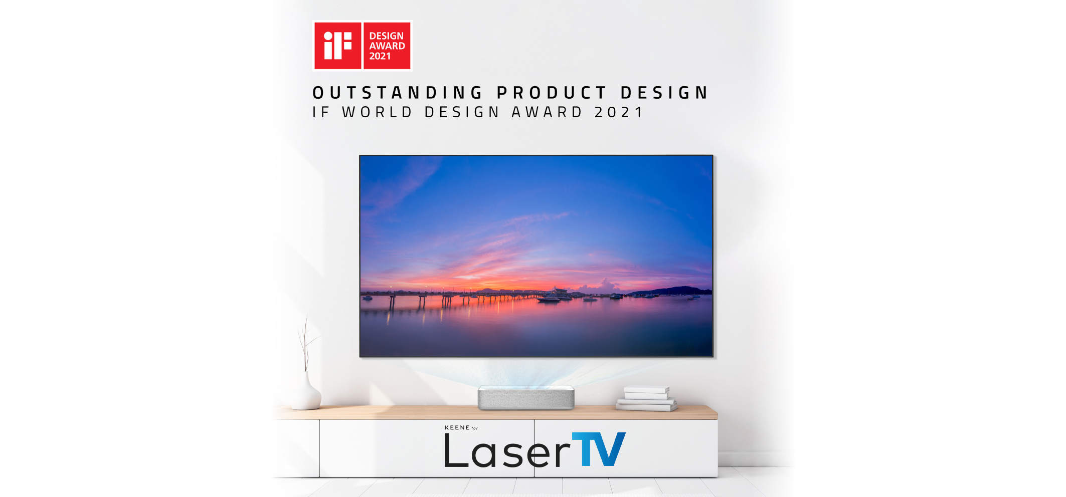 LaserTV | Winner – World Design Award 2021